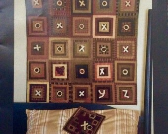 Hugs & Kisses Quilt and Wall Hanging Patterns