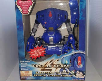 Lost in Space Movie Electronic Talking Remote Control Robot -New in Box