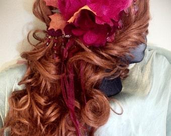 Gypsy Fire Faery Crown