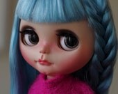 SALE -  Custom Blythe doll on  a tilt licca body by SplatterGirlUK- short layaway available