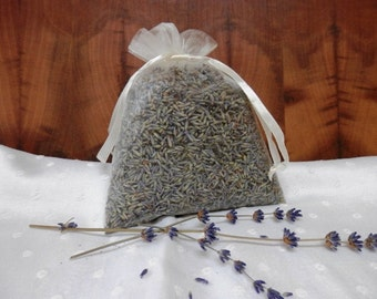 Dried Lavender Bud Large Sachet