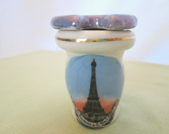 Eiffel Tower Mustard 'Potty' Souvenir, French Novelty Souvenir