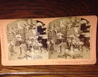Stereoview: California Exposition