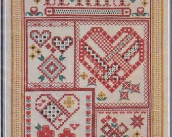 "Cross Stitch Pattern. ""Be Mine"". 1505."