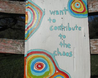 the front bottoms lyrics painting, i want to contribute to the chaos, front bottoms band, front bottoms lyric, abstract painting, indie rock