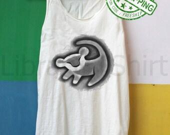 Lion Shirt Simba Shirt Tank Top TShirt Top – size S M L XL