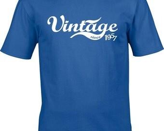 60 birthday tshirt, birthday gift, 1957 year, vintage since year
