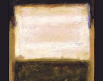 Mark Rothko Inspirited_22: 16x20 acrylic paint on canvas