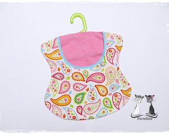 Clothespin bag - clip - Clothespin bag - flowers Paisley