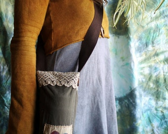 On sale! Water Bottle Sling with Recycled Fabric