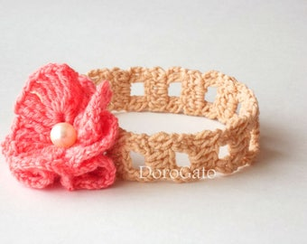 Tutorial Crochet headband pattern, Baby Crochet Pattern, Girl Headband, DIY Craft, (sizes - baby to adult), Instant Download /3005/