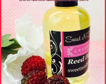 Blackberry Vanilla Reed Diffuser Oil Refill With Reeds-More Scents to Choose From!!