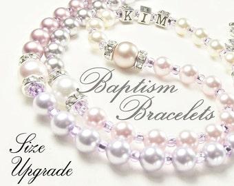 Bracelet Size upgrade to your Bracelet order.