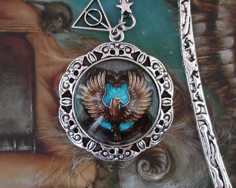 Ravenclaw - Bookmark - Eagle - Harry Potter - Rowena Ravenclaw - Hogwarts - School of Witchcraft and Wizardry - Books