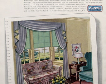 1930s Curtains Etsy