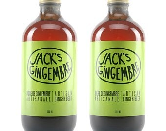 2 x 500 ml - Jack's ginger