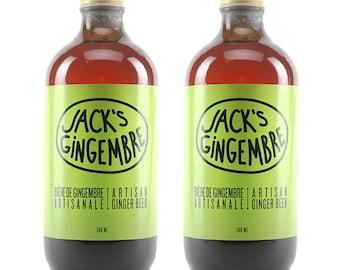2 x 500 ml - Jack's ginger