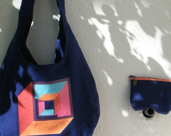 Infinity 2: The bag of the artist Henri Kaufman / with his POUCH ASSORTIE