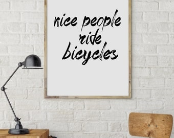 cycling poster, Bike art print, Bicycle poster, Bike print, Bicycle art, Quote poster, Motivational poster, Cycling Gift