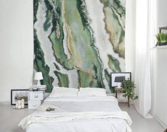 Unique Tapestries, Zebra Jasper Art, Mineral Photography, Bedroom Decoration, Large Tapestry, Abstract Photo