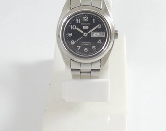Vintage Seiko Automatic 17J Ladies Hand Winding Mechanical WATCH JAPAN D&D@3 #Ew-128