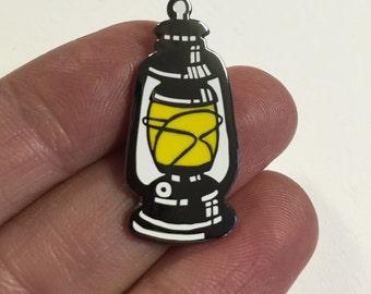 Hurricane Lantern- Cloisonné Hard Enamel Pin