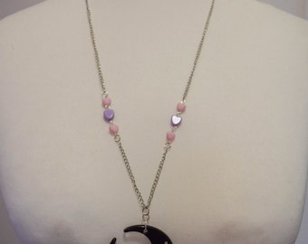 """""""Cat in the Moonlight"""" necklace"""