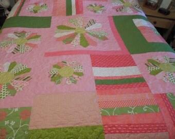 Handmade Large Full Size Quilt