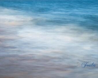Limited Edition ~ Vineyard Abstract ~ South Beach, Katama, Martha's Vineyard, Nautical Decor, Fine Art Canvas, New England, Photography