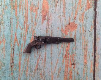 Miniature pistol | western miniature | dollhouse miniature