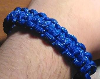 Single Color Paracord Survival Bracelet for Men and Women