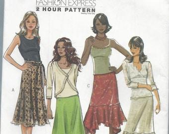 Butterick 4993 Misses Skirt Size Lrg-XLrg