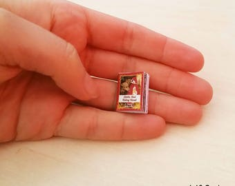 Little Red Riding Hood Doll - 1:12 Scale dollhouse miniature