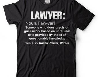Lawyer T-Shirt Funny Definition Noun Occupation Tee Shirt