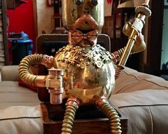 King bot robot lamp