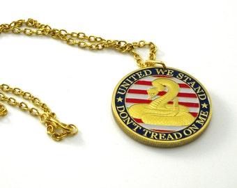 Challenge Coin Pendant Challenge Coin Necklace Deployment Gift Deployment Necklace Veteran Jewelry Challenge Coin Army Coin Necklace
