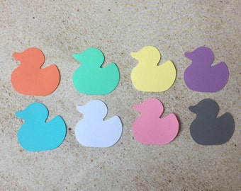 Baby Duck Confetti, Baby Shower Duck Confetti, Baby Birthday Party Decor, All Purpose Duck Confetti