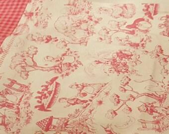 Nursery Rhymes Toddler Pillowcase