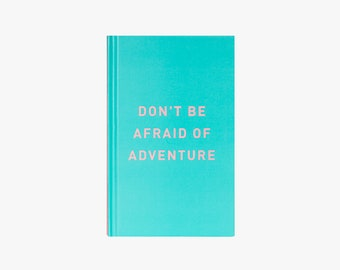 2018 Planner Adventure Teal Hard Cover with Pink Lettering