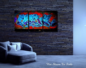 Large Canvas Art, Large Wall Art Canvas, Graffiti Art, Graffiti Art Canvas, Graffiti On Canvas, Canvas Art, Large Canvas Art, Abstract Art