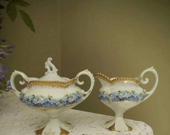 Vintage RS Prussia Cream and Sugar