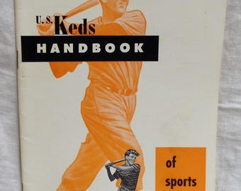 "Vintage ""U.S. Keds Handbook Of Sports and Games"""