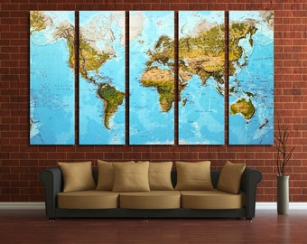 World Map Push Pin Push Pin Travel Map Push Pin Map Map Canvas World Map Wall Art World Map Print Travel Map World Map World Map Wall Decor