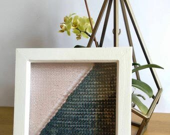 Handmade Copper Wire Knitted Wall Art