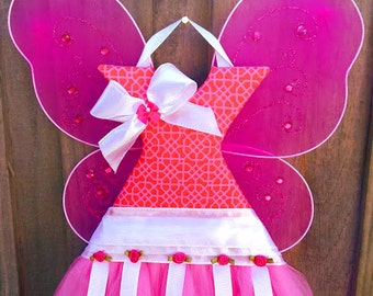 Tutu Hair Bow Holder Large Hair Bow Organizer Girl Nursery Decor Baby Shower Gift