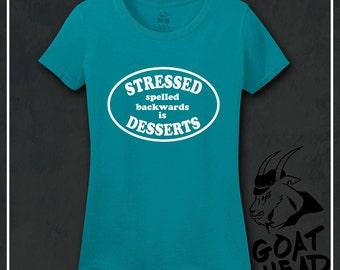 Humor, Humor Shirts, Philosophy, Stress Relief, Dessert, Ice Cream, Cake, Ice Cream Bowls, Ice Cream Party, Dessert Sign, Tshirt, Shirt, Tee