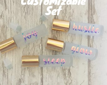 Customizable Set of 4 10ml Rollers