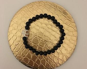 Crossbones Stack Bracelet