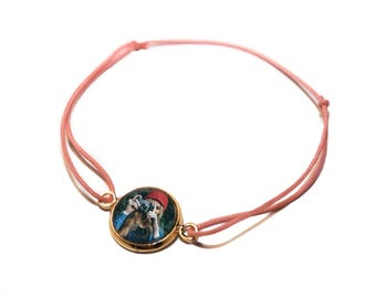 Bracelet with its own photo | Gift idea