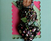 Beaded Art Doll  (Garden Goddess)